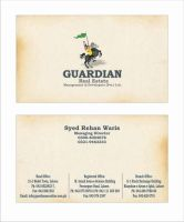 guardian visiting card by aa3