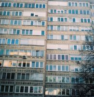 the apartment block by girlwithstripes