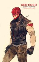 Red Hood_outfit remake by Maby-chan