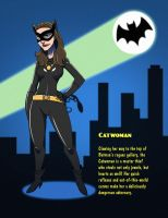Batman 1966 - Catwoman by SeriojaInc