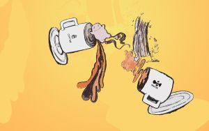 Coffee Monger by octobomb