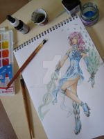 work in progress, Contest FFXIII by Samy-Consu