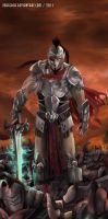 GOD ARES by jorcerca