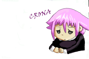 Little Crona Coloured by dawnleapord