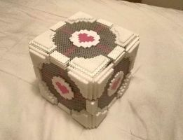 XL Companion Cube by hardrocker37