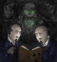 Max and Sam Spade by wildfire707