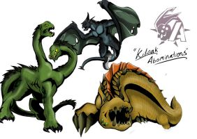Kaiju Wars: Abominations by Blabyloo229
