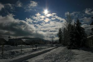 Wintery Coeur d Alene by GNGPhotography