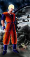 Future Gohan by Ryoishen