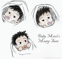 The Many Faces of Baby Mori by ItoshiiSteffi