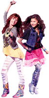Bella and Zendaya (Rocky and Cece) PNG 2 by xCupcakeGlitter
