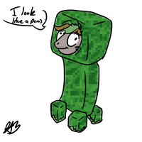 Creeper Socks by Dzone16
