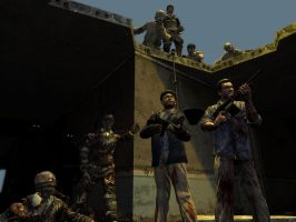 MOB OF THE DEAD by quinoproductions