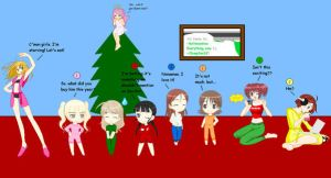 An All Girl Christmas by clampfan101