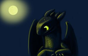 toothless by GrimildeMalatesta