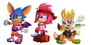 Sonic the Bat *fusionverse AU* by Metal-Echidna