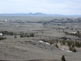 Oregon Buttes, Wyoming by michaelgoldthriteart