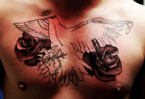 2nd sitting .......dove by Richroyalty