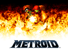 Metroid Flames by kironohasama