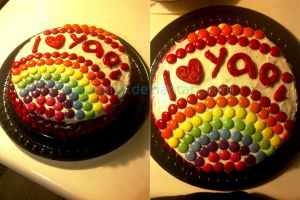 The Yaoi Cake is Not a Lie by yuuqing