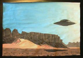 0904 - 13-02 - Desert UFO by TwistedMethodDan