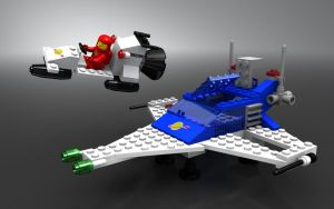 LEGO 6890 double ship by zpaolo