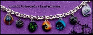 Nightmare Charm Bracelet by quidditchmom