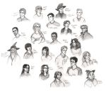 Harry Potter Characters (update) by Catching-Smoke