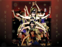 Morning Musume Wallpaper2 by chanherachan