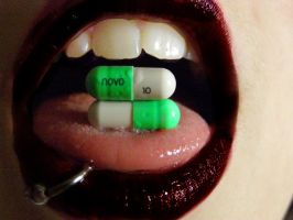 Lips like Prozac. by lethal-injections