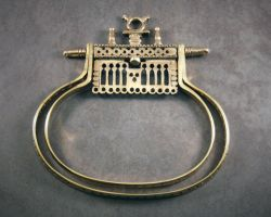 Medieval Double Ring Purse Frame by MatthiasBlack