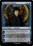Custom Magic Card - Sherlock Holmes by meganekun