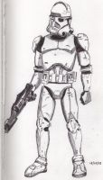 Star Wars Clone Trooper by Tullen666