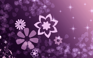 Purple Star -Wallpaper by Joizjoiz