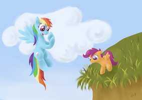 Flying lessons by 0Riane0