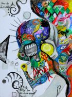 The Death of Arlecchino by Dionaya