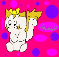 My Adopted Pachirisu-Sparkle by Pixel-777