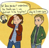 Supernatural - about death by Bisho-s
