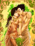 Mucha-style GohanxVidel--final by genaminna