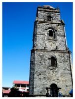 Paoay belfry by singkit