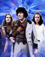 The Time Lord, the Savage and the Ice Maiden by Hisi79