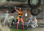 WONDER WOMAN: Defending Our Defenders by sgreco1970