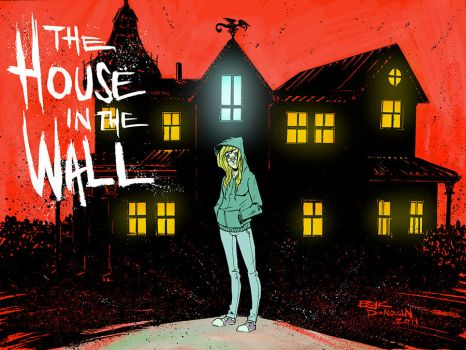 The House in the Wall Chapter 1 Cover by Erykkr