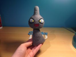 Needle Felted Shuppet by x-SpookyBoo-x
