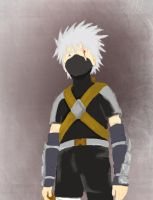 kakashi: speed paint by mouse by little-dreamer88