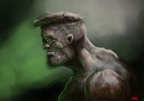 Frankenstein's Monster by TomallicA