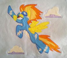 Spitfire Quilt Square by dollphinwing