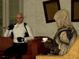 Tea Time with the assassins by DevilTraitor