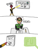 hal sinestro teacher by LelandLancaster