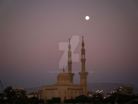 Moon over Muslim. by TwiztdFred